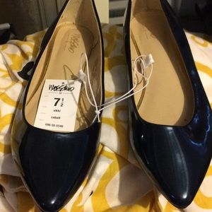 Stylish and comfortable. Cobalt blue flats.